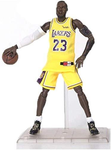 lkw-love Juguetes Serie NBA 24 Lebron James Figura de acción Recuerdos/Coleccionables/Manualidades 22cm Juguetes Decoración de la Estatua