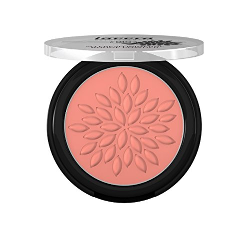 lavera So Fresh Mineral Rouge Powder Puder ∙ Farbe Charming Rose ∙ sanfter schimmer & seidig zart ∙ Natural & innovative Make up ✔ Bio Pflanzenwirkstoffe ✔ Naturkosmetik ✔ Augen Kosmetik 1er Pack (1 x 5 g)