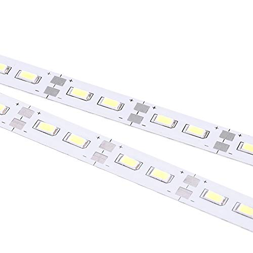 Chassis Light, 6V 24 LEDs Chassis Body Tube Strip Light Bar RC LED Strip Fit for 1/10 1/8 RC Car Crawler Buggy 3