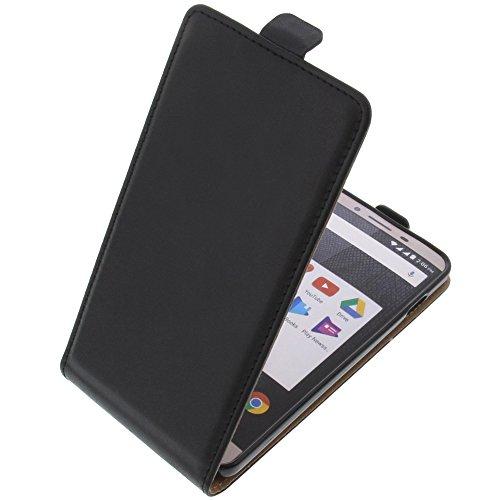 foto-kontor Tasche für Allview V2 Viper S Smartphone Flipstyle Schutz Hülle schwarz