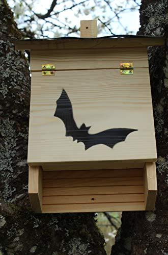 garten-deko-fuchs Fledermauskasten Fledermausnistkasten Fledermaushotel Nistkasten