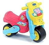 FEBER - Motofeber 1 Peppa Pig, correpasillos con claxon, ruedas anchas para estabilidad, combina ejercicio y diversión con los personajes de la serie, para niños de 18 a 36 meses, FAMOSA (800013182)