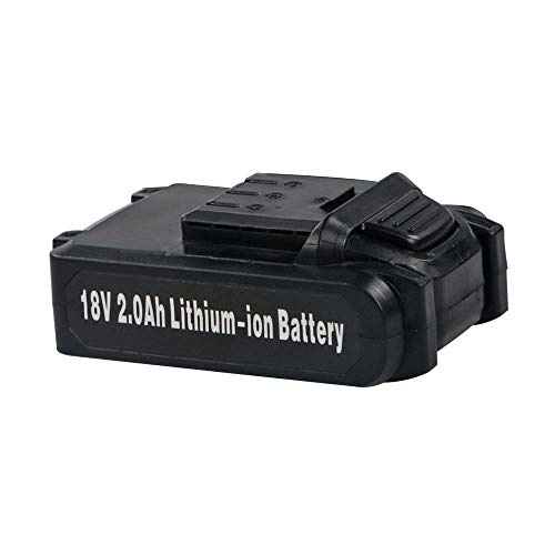 BHTOP18V 2Ah Rechargeable Lithium Ion Compact Slide Battery for Cordless Brad Nailer