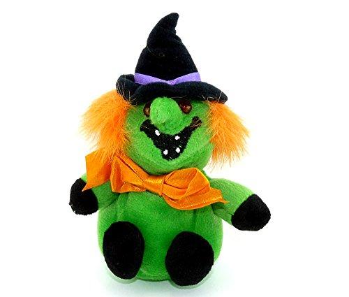 Kinder Überraschung, Maxi-Ei Plüschfigur Halloween Hexe (Lachsack)