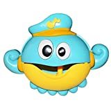 Blase Maschine Krabben Musik Licht elektrische Bubble Maker Baby Kids Outdoor Schwimmen Badewanne...