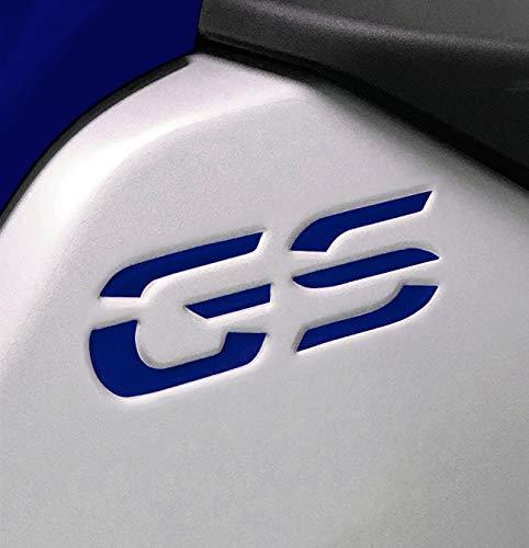 Kit 2 Adesivi GS RESINA 3D PER BMW R 1200-1250 GS ADV 2014-2018 AD-GSADV2 (OCEAN BLUE)