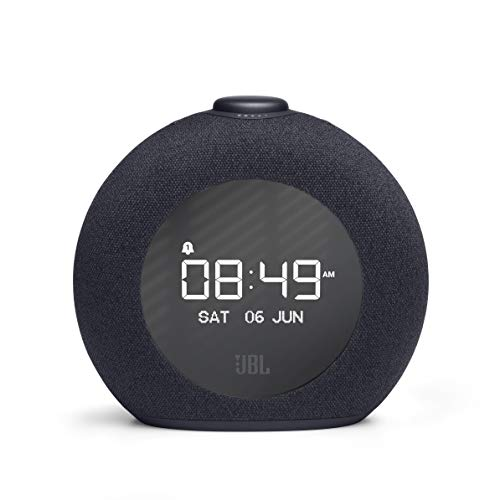 JBL Horizon 2 Bluetooth Clock Radio Speaker with FM Radio and DAB - Black