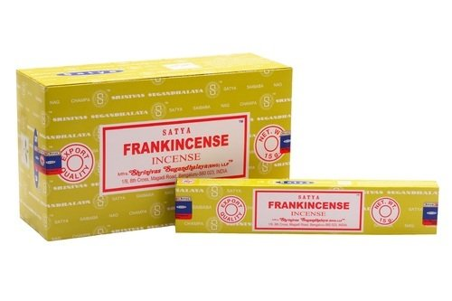 Satya Frankincense 15 g Incense Sticks SHRINIVAS SUGANDHALAYA