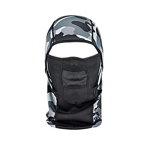 NGN Balaclava Carmouflage für Damen & Herren – Sturmhaube für Ski, Snowboard, Motorrad & Fahrrad   gefleckte Sturmmaske   Atmungsaktive Skimaske   Gesichtsmaske   Outdoor Face-Mask   Motorradmaske