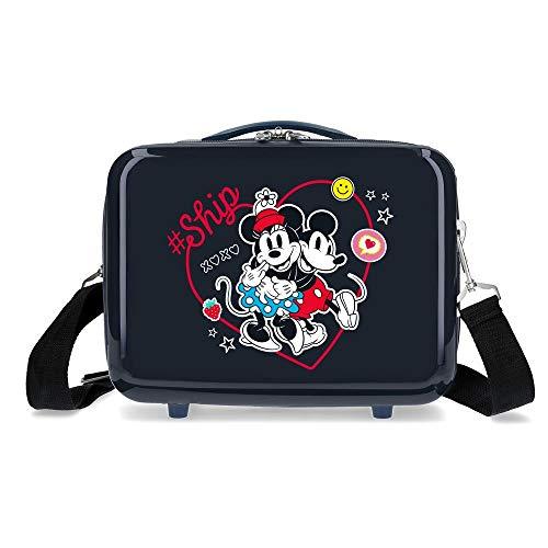 Disney Always Be Kind Neceser Adaptable Azul 29x21x15 cms Rígida ABS 9,14L