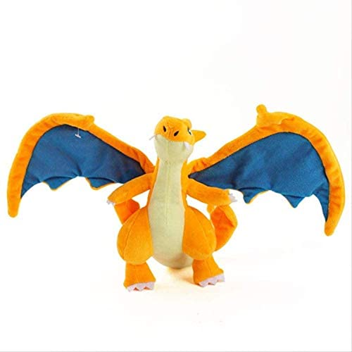 Bieuward Diseño de Mascotas Alf Dragon Peluche Toy Cumpleaños Regalo de cumpleaños Juguetes 25 cm Anaranjado Spray Fire Dragon A