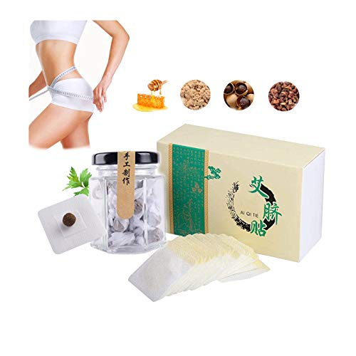 30/60 Pcs Slimming Stickers,Lose Weight Navel Paste for Woman Fat Burning (30)