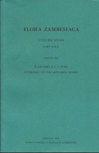 Flora Zambesiaca Volume 7, Part 4: Canellaceae-Boraginaceae