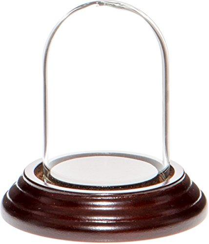 campana cristal base madera fabricante Plymor