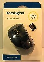 Computer Mouse, Wireless Silent Click, for: Windows or Mac, Kensington, [並行輸入品]