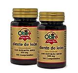 Obire   Diente de león 500 mg   Extracto Seco 100 Comprimidos