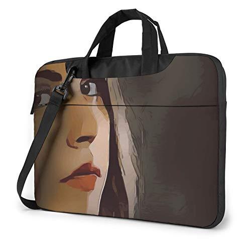 Laptop Case, Girl Woman Ar Print Laptop Shoulder Bags Multi-Functional Notebook Sleeve,13-14-15.6 Inch