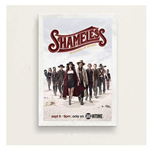chuangyue Shameless Series Show New Season Kunst Malerei Seide Leinwand Poster Wand Home Decor40X60 cm Kein Rahmen