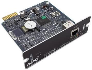 APC AP9631 Environmental Monitoring SNMP UPS Network Management Card (Renewed)