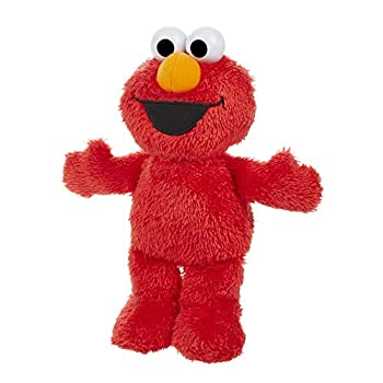 Sesame Street Little Laughs Tickle Me Elmo Talking Laughing 10-Inch Plush Toy for Toddlers Kids 12 Months & Up