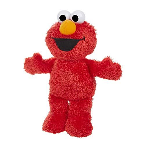 Sesame Street Little Laughs Tickle Me Elmo Talking Laughing 10Inch Plush Toy for Toddlers Kids 12 Months amp Up