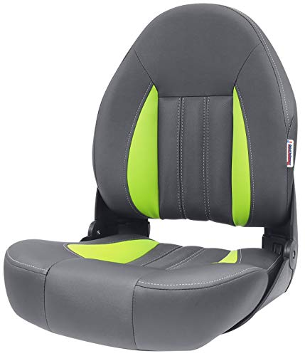 Tempress ProBax Orthopedic Limited Edition Boat Seat (Charcoal/Gray/Green)