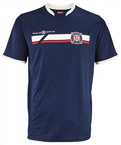 adidas MLS Men's Mass Soccer Jersey, Chicago Fire XX-Large