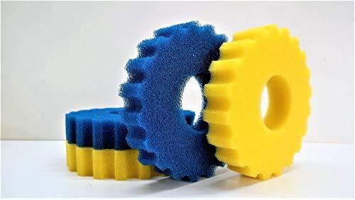 Aquaristikwelt24 Ersatzschwämme für Druckteichfilter CPF-5000