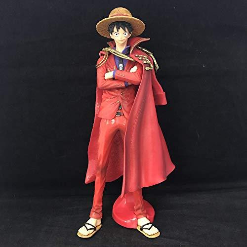 Anime Una Pieza Capa Roja Luffy 20 Aniversario Ver.Figura De Acción De PVC 25Cm, El Último Juguete De Colección Modelo De Regalo De King Luffy