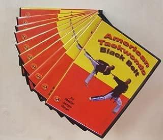 American TaeKwonDo White Thru Black Belt DVD's by Master James Holan
