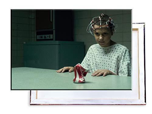 Unified Distribution Stranger Things - 100x70 cm Kunstdruck auf Leinwand • erstklassige Druckqualität • Dekoration • Wandbild