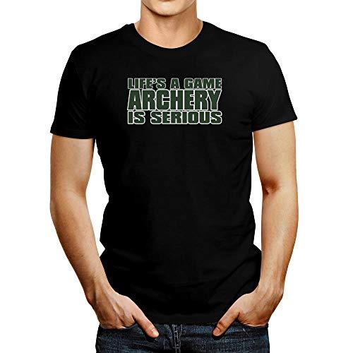 Idakoos Life is A Game, Tiro con Arco es SERIOUS Camiseta