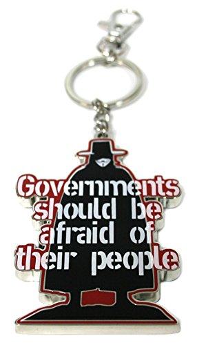 SD toys SDTWRN89131 - V de Vendetta, Governments, Llavero mosquetón (SDTWRN89131) - Llavero Governments V de Vendetta