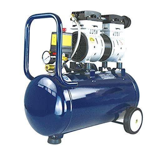 WUK Compressore d'Aria Senza Olio Pompa d'Aria Portatile 30L Silenzioso (65dB) 550/750/980 W Compressore d'Aria Domestico Vernice Spray Gonfiaggio Pneumatici Utensili Pneumatici elettrici