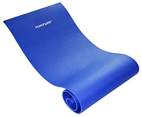 Tunturi-Fitness 14Tusfu185 Esterilla para Deportes, Unisex Adulto, Azul, Talla Única