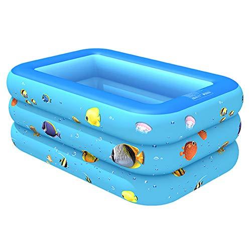Lanmei - Piscina hinchable para niños y adultos
