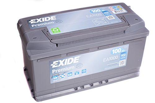 Exide Premium Carbon Boost Car Battery 100Ah 900 A/EN