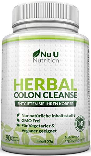 Colon Complex mit 11 Ballaststoffen plus Ingwer Extrakt und Flohsamen Schalenvon Nu U Nutrition
