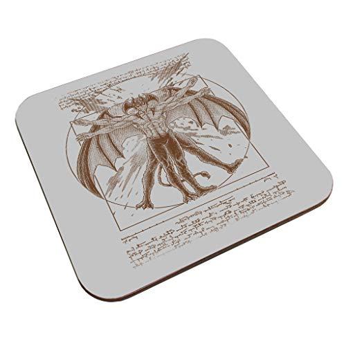 Vitruvian Devil Devilman Crybaby Coaster