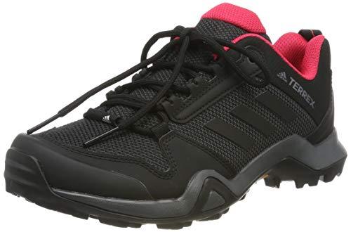Adidas Terrex Ax3 W, Zapatillas de Deporte Mujer, Mehrfarbig (Carbon/Core Black/Active Pink Bb9519), 37 1/3 EU