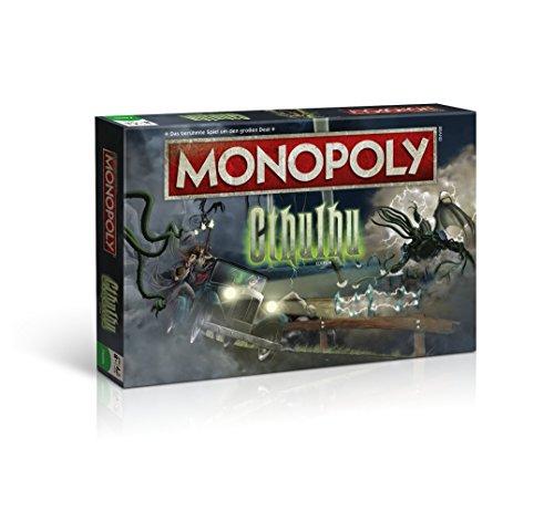 Monopoly Cthulhu Edition - Die Welt des kosmischen Horrors von Lovecraft trifft auf den Brettspielklassiker (Deutsch)