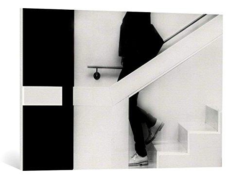 Kunst für Alle Cuadro en Lienzo: JEF Flour Stairs - Impresión artística, Lienzo en Bastidor, 90x60 cm