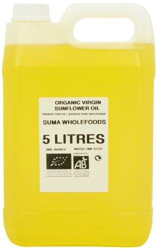 Aceite de girasol orgánico Suma, 5 litros