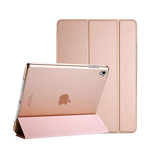 For Apple iPad Mini 1/2/3 Smart Case with Automatic Magnetic Wake/Sleep (Rose Gold)