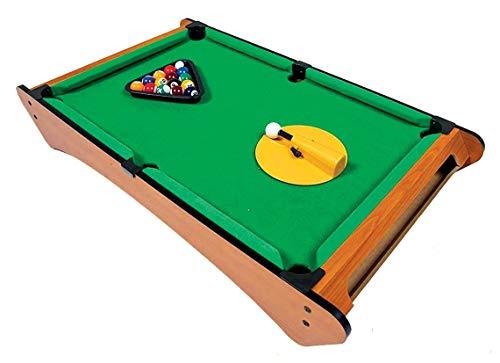Big Time Pivot Pool Tabletop Portable Billiards Game with 16 Balls, Rotating Pivot Shooter, Triangle Rack, Family Game!