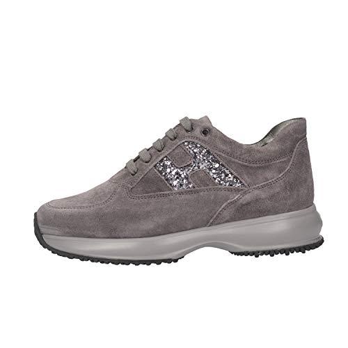 Hogan Junior HXC00N0O240GHM372B Sneakers Bambina Grigio 34