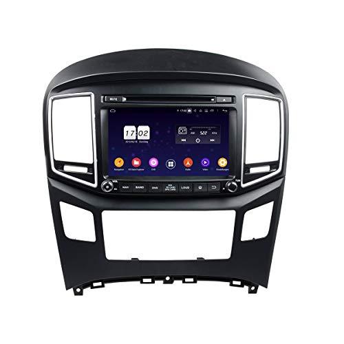 Android 9.0 Auto Radio für Hyundai H1(2016-2019), 4 GB RAM+32 GB ROM, 8 Zoll Touchscreen DVD Player Bluetooth Radio GPS Navigationssystem Haupteinheit