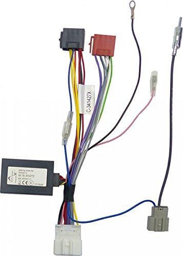 Stuur-interface voor Nissan Cube III gen. (Z12) bouwjaren: 2008 voor Zenec II Radio