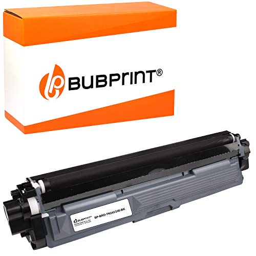 Bubprint Toner kompatibel für Brother TN-242BK TN-246BK für DCP-9017CDW DCP-9022CDW HL-3142CW HL-3152CDW HL-3172CDW MFC-9142CDN MFC-9332CDW MFC-9342CDW Schwarz