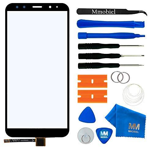 MMOBIEL Kit de reemplazo de Vidrio Frontal de digitalizador de Pantalla táctil Compatible con Xiaomi Mi A2 Lite 2018 5.84 Inch (Negro)